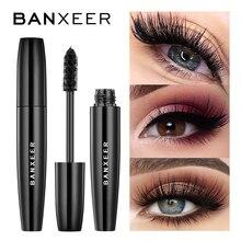 BANXEER Fluffy Volume Mascara Makeup 4D Mascara per ciglia in fibra di seta impermeabile Rimel 3d Mascara Extension ciglia lunghe e spesse