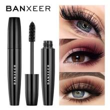 BANXEER Volume moelleux Mascara maquillage 4D soie fibre cils Mascara imperméable Rimel 3d Mascara Extension épaisse longue friser cils