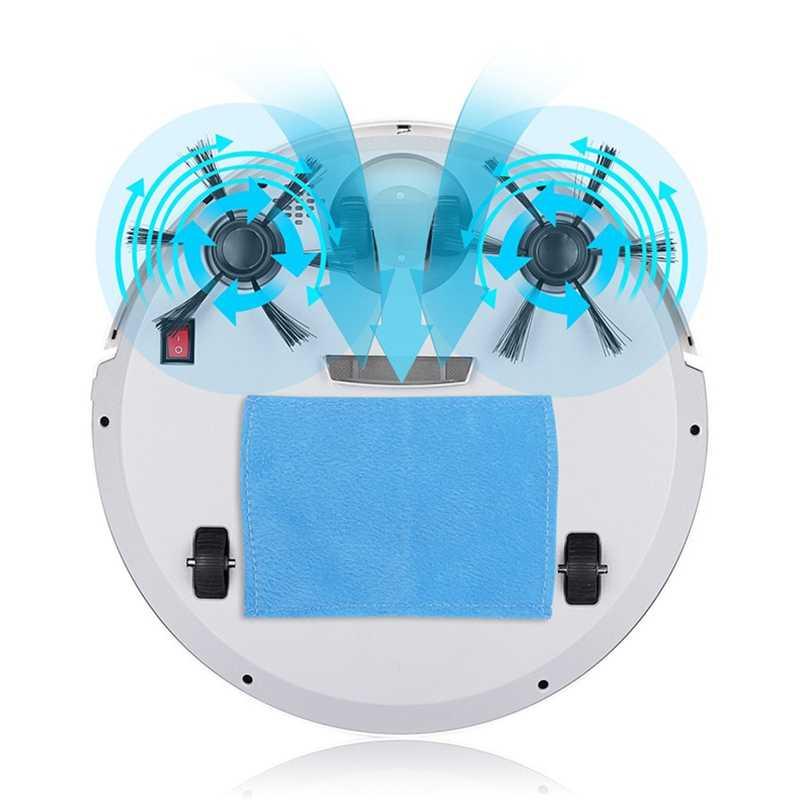 Многофункциональный робот-пылесос QDRR, 3 в 1, автоматическая зарядка, умный робот-пылесос для сухой и влажной уборки, домашний пылесос