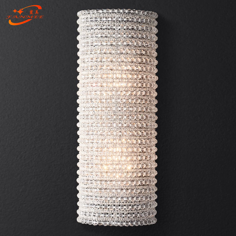Modern Crystal Wall Lamp Modern Wall Sconce Bedroom Corridor Living Room Lights For Home Lighting|LED Indoor Wall Lamps| |  - title=