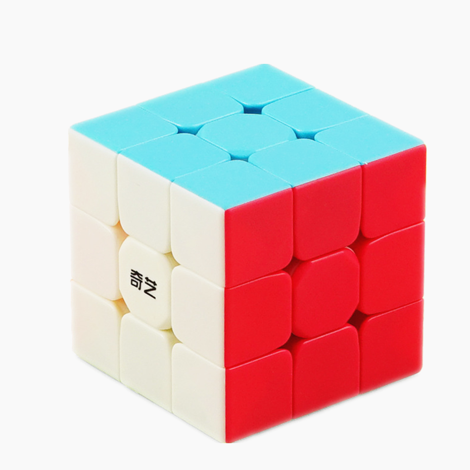 Qiyi Cube Warrior W 3x3 Puzzle Magic Cube Speed Cube 3x3 Cube Cubo Magico Educational Toys Toys For Children Toys For Boys