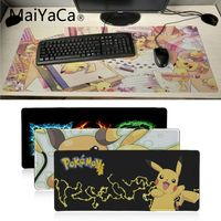 MaiYaCa Pokemons DIY Design Pattern Game mousepad XXL Mouse Pad Laptop Desk Mat pc gamer completo for lol/world of warcraft 1