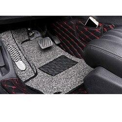 Lsrtw2017 кожаный коврик для салона автомобиля для peugeot 3008 2019 2020 коврик для ног аксессуары для интерьера