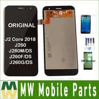 Original para samsung galaxy j2 núcleo 2018 j260 j260m/ds j260f/ds j260g/ds display lcd sensor de toque digitador assembléia + kit