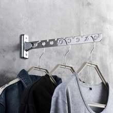Настенный держатель для сушки вешалка одежды из нержавеющей