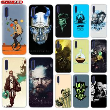 Phone Case For Xiaomi 9 8 Mi A1 A2 A3 lite F1 6 5X se For Redmi Note 8 7 6 Pro Cover Star Breaking Bad Chemistry Walte image