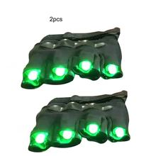Free shipping New High quality green laser gloves nightclub bar party dance singer dance props DJ mechanical gloves LED light(China)