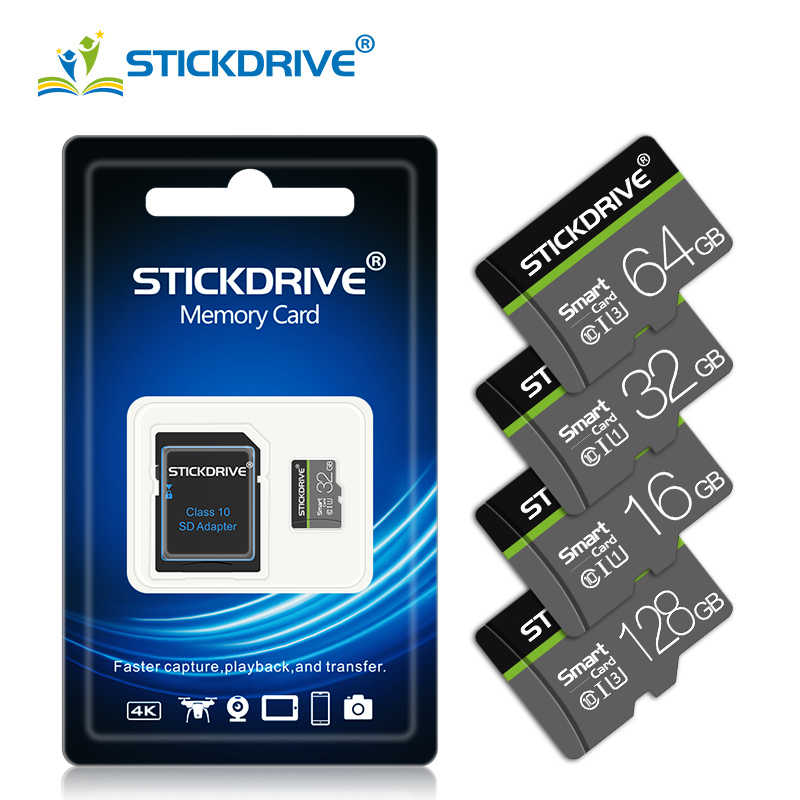 Stickdrive micro sd 128 gb 32gb 64gb 128 gb, micro sd 256gb 512gb 64gb cartão sd/tf flash card microsd carte, para telefone