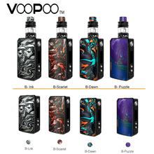 Original Voopoo Drag 2 TC Kit W/ 177W Voopoo Drag 2 Box MOD & 5ML Uforce T2 SubOhm Tank Electronic Cigarette Vaporizer Vape Kit