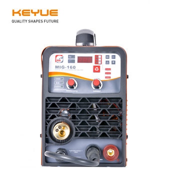 KEYUE MIG-200 DC 220V 5kg  Wire Gas No Gas Self- shielded inverter welding machine MIG TIG ARC Welder nb mig 270315 gas shielded welder power supply plate carbon dioxide welding machine circuit board