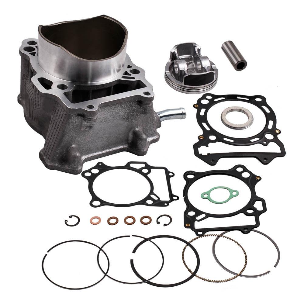 Комплект прокладок поршня цилиндра с большим отверстием подходит для Suzuki Quadsport LTZ400 2003-2014