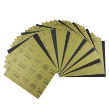 Абразивная Бумага для сухой и влажной шлифовки, 60-2500 Грит, 35 шт.