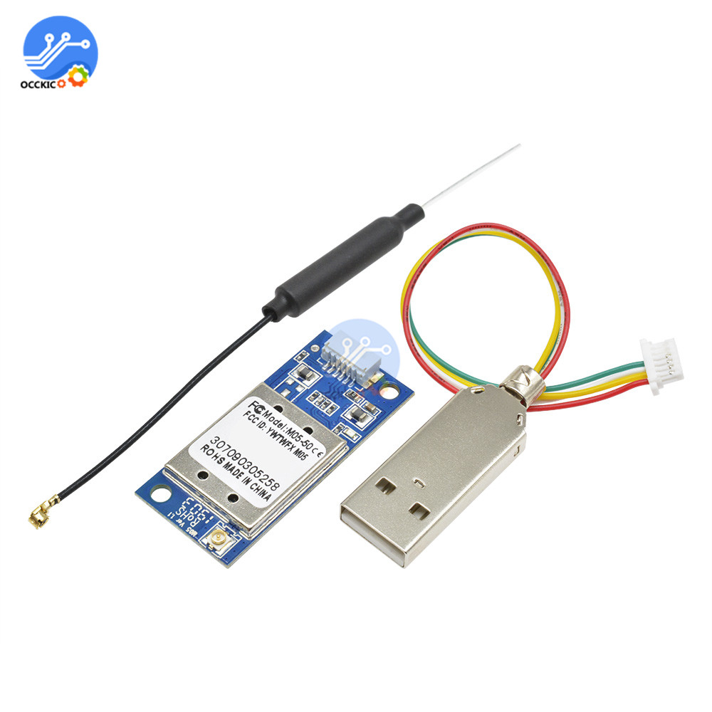 RT3070 USB WiFi Module RT3070 Chip With Antennas Wireless Adapter Module For Linux Win7