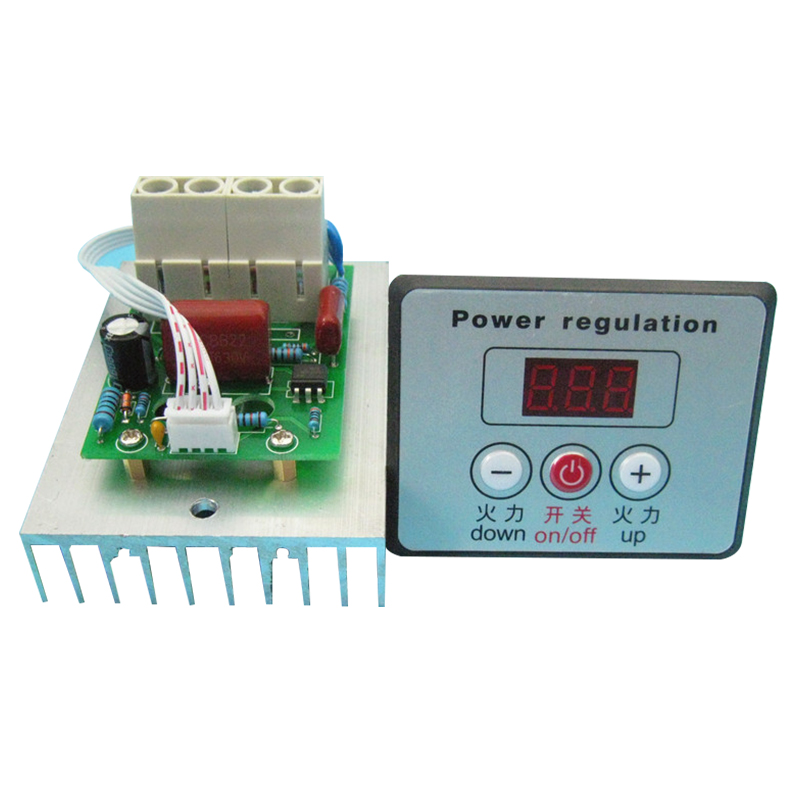 220V 380V 10000W Smokeless Electric Oven Digital Thermostat Module Commercial Grill Controller Thermostat Module