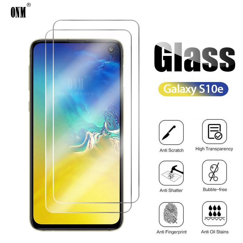 2Pcs S10e Tempered Glass For Samsung Galaxy S10e Screen Protector For Samsung Galaxy S10e Protective Glass Film