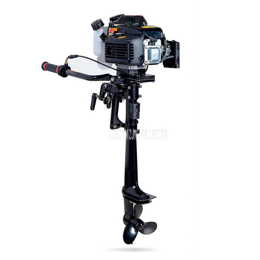 4.0 HP Horsepower Boat Outboard Engine Air-cooling System Gasoline Fuel Four 4 strok Outboard Motor For Inflatable Boat 2.9KW