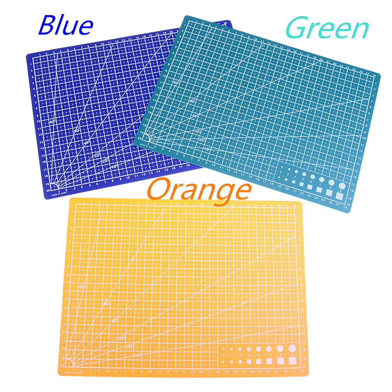 1pcs A4 Grid Lines Self Healing Cutting Mat Craft Card Fabric Leather Paper Board 30*22cm