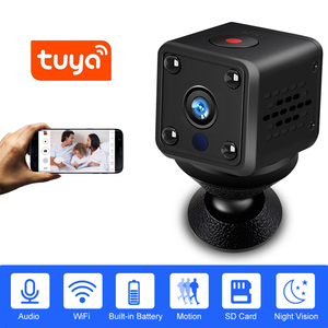 Image 1 - Security IP Camera 1080P Battery Power 140 Degree Night Vision Audio Reording 2MP Wireless WIFI Mini Camera Tuya Smart Life
