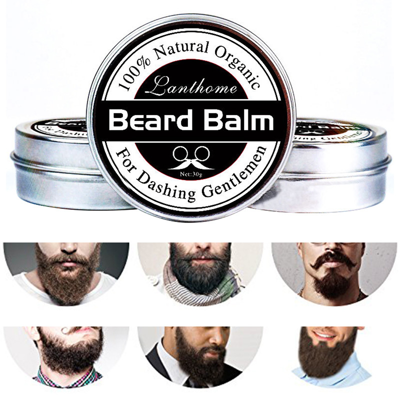 ELECOOL Charming Conditioner Balm For Beard Growth And Organic Moustache Wax For Caring Smooth Styling Shaving Cream Gels TSLM1