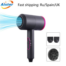 Hair Dryers 2000W Professional Salon Hair Dryer 2 In 1 Hot &Cold Wind  Negative Ionic Hair Blow Dryer Strong Wind Fast Shipping