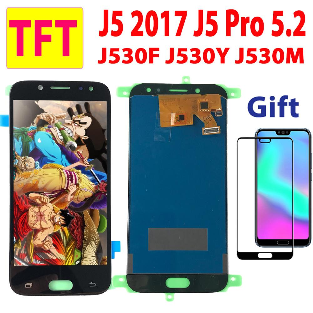 5.2'' Test Well TFT For SAMSUNG Galaxy J5 Pro J530F LCD Display Touch Screen Digitizer For Samsung J530 J5 2017 LCD J5Pro Screen