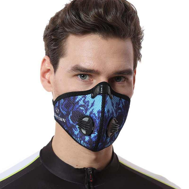 Hot Sale Bicycle Face Mask Windproof Dustproof Mesh Breathable Activated Carbon Riding Mask Winter Warm Face Masks 2019 Newest