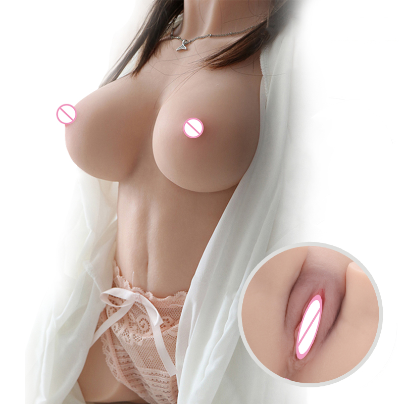 Male masturbator sex doll simulated skin realistic vagina,ass,breasts sex toys adult products sex toys for men