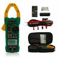 Mastech DC AC Strom 1000A True RMS Digital Clamp Meter 6000 Zählt Spannung Tester mit EINSCHALTSTROM und NCV Messung