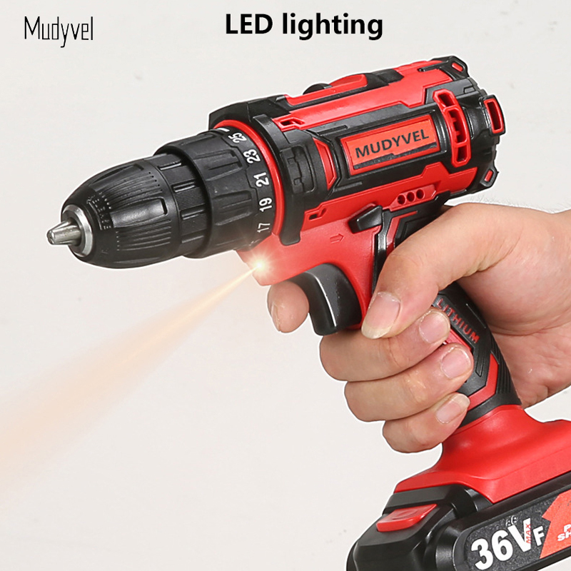Image 4 - Cordless Drill Mini 12V 16.8V 36V Rechargeable Power Tools 2 speed Flexible Shaft Cordless Screwdriver Electric on