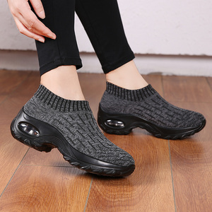 Image 5 - STQ Women Shoes Winter Flats Sneakers Shoes Breathable Mesh Shoes Women Sneakers Ladies Slip On Creepers Shoes Woman TF1972