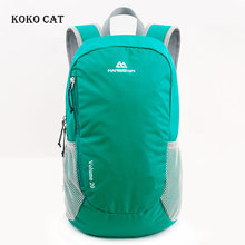 Foldable Nylon Waterproof Travel Backpack Men Light Weight Climbing Hiking Rucksack 20L Outdoor Sports Bags Mochila цены
