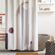 Shower Curtain Bathroom-Accessories Partition Waterproof NEW Not for Home Customizable
