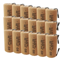 Ni-CD cell ni cd 18pcs SC2000mAh with tabs high power Sub C 10C 1.2V rechargeable battery for power tools electric drill mbr cell power neck