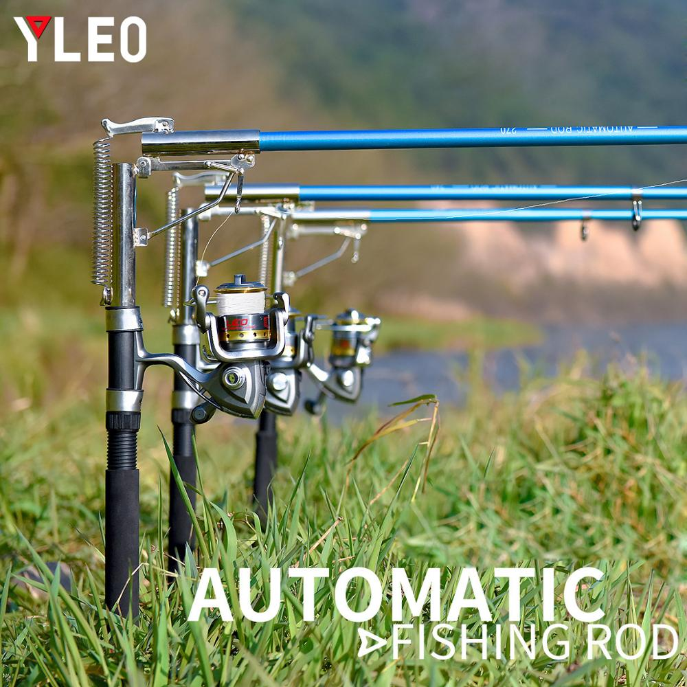 YLEO Automatic Fishing Pole Outdoor Self-lifting Sea Rod 2.1m 2.4m 2.7m Spinning Telescopic