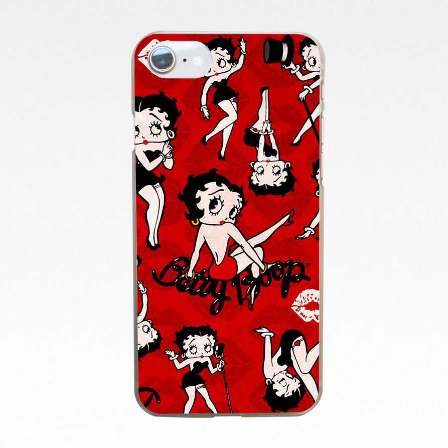 Inspired by Betty boop silicone Samsung Galaxy case Betty boop silicone case Note 8 Galaxy Note 9 Samsung S9 S8 S9 Plus Samsung S8 Plus silicone slim cover for Samsung transparent frame kiss