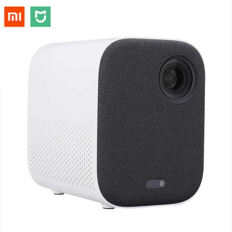 Xiaomi Mijia projecteur TV Full HD 1080P 30000 LED de vie DLP Wifi bluetooth Dolby son lecteur multimédia pour téléphone ordinateur musique 3D
