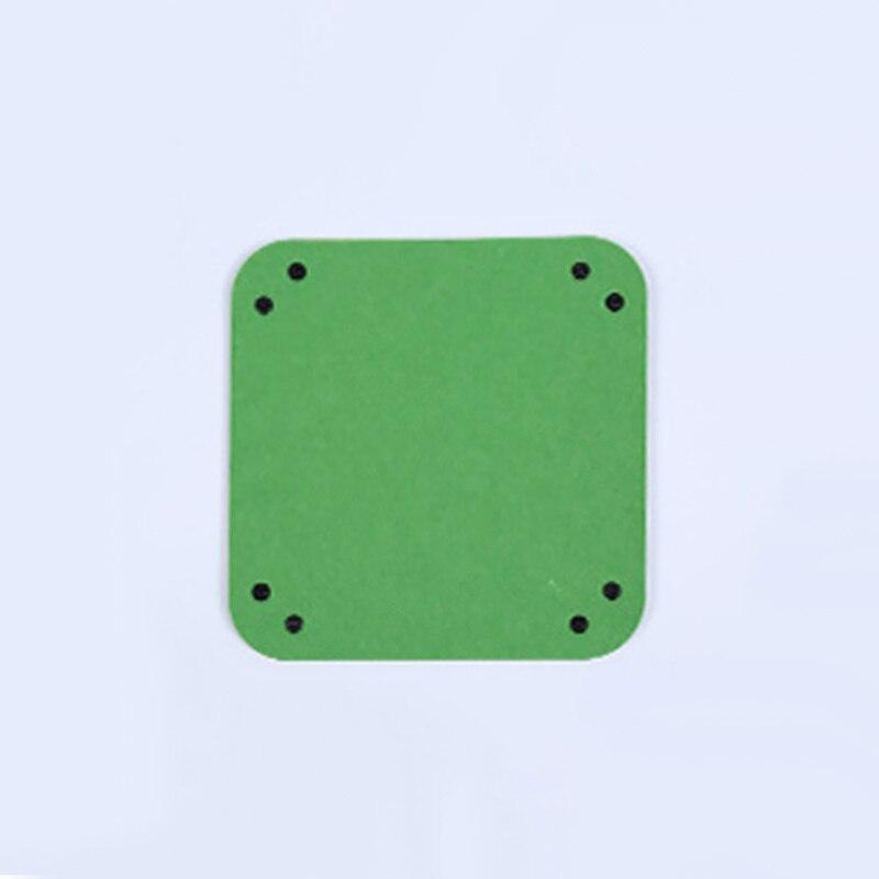 Складная коробка для хранения из искусственной кожи, квадратный поднос для настольной игры в кости, кошелек для ключей, коробка для монет, поднос, настольная коробка для хранения, лотки, Декор - Цвет: B-2