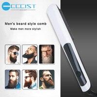 Multifunctional Beard Shaping Styling Template Beard Comb Sandalwood Men Shaving Tools Comb for Hair Beard Trim Template Combs