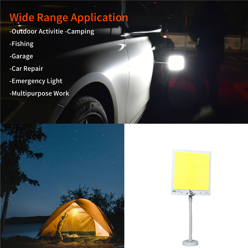 Outdoors Road Travel Household Emergency Lighting Ip65  Camping Tent Light Portable Lantern Rechargeable Working Lamp