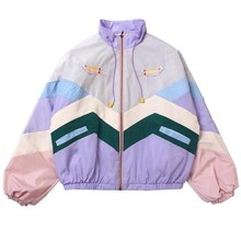 INS women ladies bomber streetwear Jacket Harajuku oversize windbreaker punk BF loose korean COAT