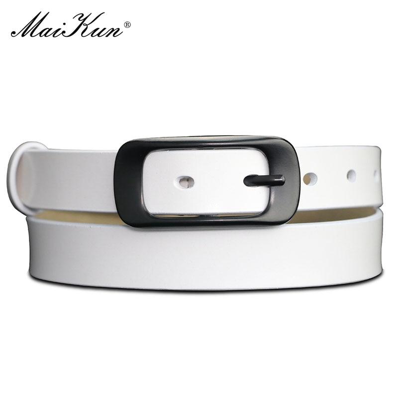 Maikun Belts For Women Belt Genuine LeatherBelt Female Waistband For Jeans Dresses Pants