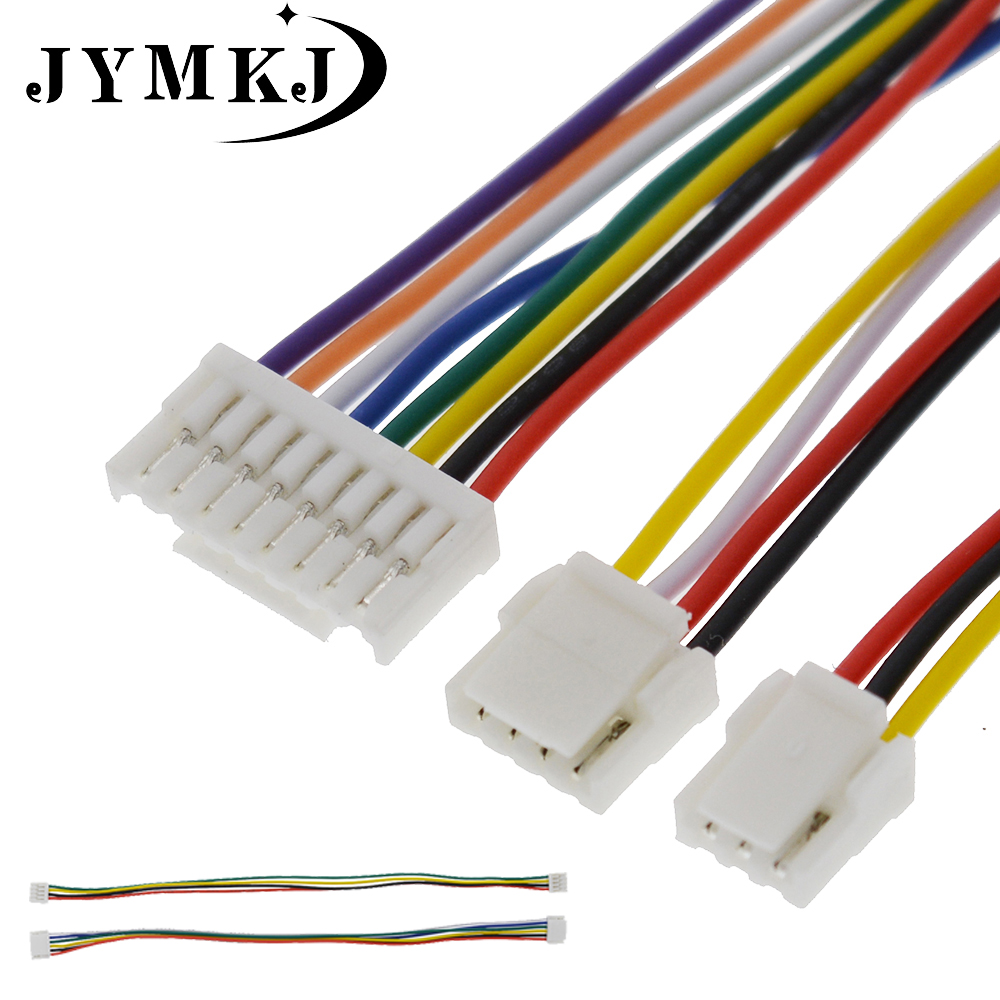 10Pcs 2P JST GH connector plug for Pixhawk2 Pixhack Pixracer PXFmini GPS