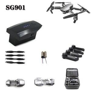 Origianl 3.7 V 2200 mAh Lithium Battery For SG901 4K GPS Folding Drone Spare Parts 1s 3.7v Battery For SG-901