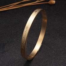 Позолоченные дизайнерские браслеты манжеты из нержавеющей стали