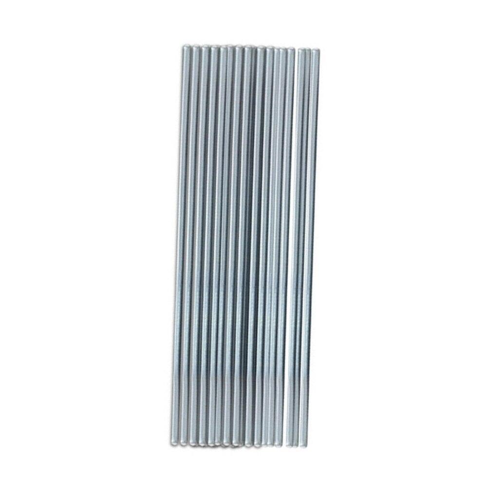 50 Pack basse température aluminium soudure soudure fil brasage réparation tige outil nouveau