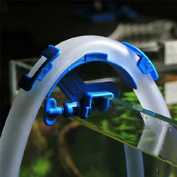 Aquarium Filtration Hose Holder Water Pipe Clip Filter Mount Tube Tropical Fish Tank Clean Pump Fixing Clamp Tank Accessories