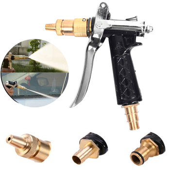 Automobiles  High Pressure Cleaning Tool  Garden Washer Sprayer Car Wash Gun with Jet Nozzle Hose Pressure Washer Gun 4000psi high pressure spray gun kit dust cleaner car wash tool 5 nozzles 2 hose adapter car cleaning tools domestic delivery