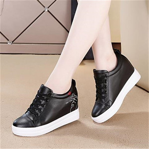 Women High Heeled Sneakers Brand Designer Shoes Thick Sole Casual Shoes Platform Snekers Women New Trainers Female Girls Shoes