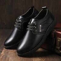2021 Trends Leder Casual Schuhe Leichte männer Müßiggänger Weichen Bequemen Männer Kleid Schuhe Non-slip Herren Business Schuhe