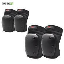 Wosawe 4 шт защита для локтей и коленей pp оболочка наколенник